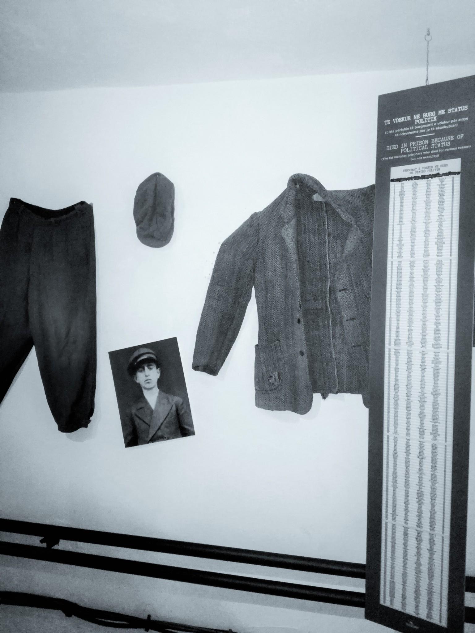 indumenti dei prigionieri