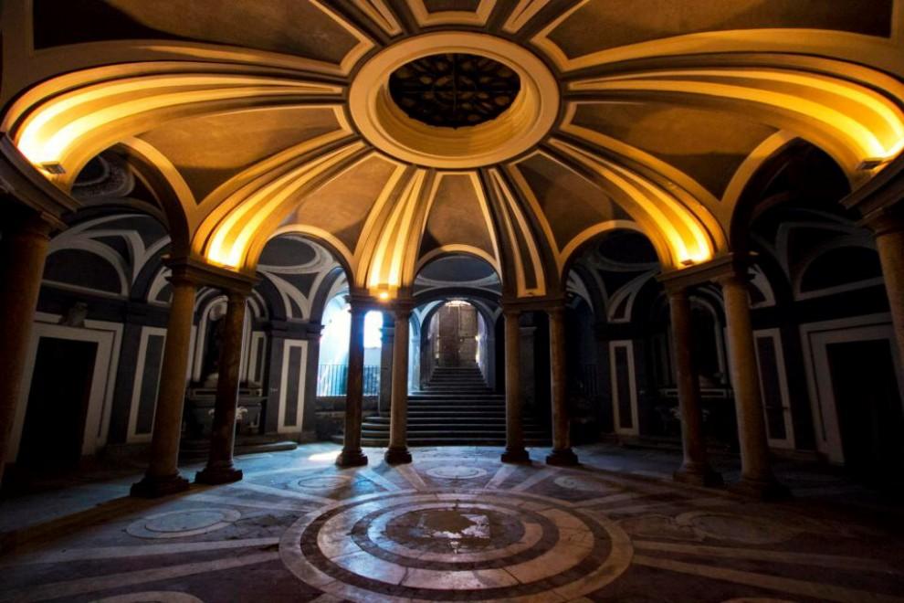 sala delle colonne annunziata