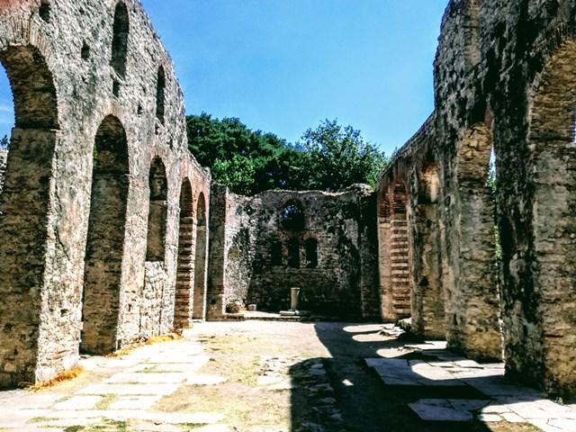 tempio scavi di butrinto